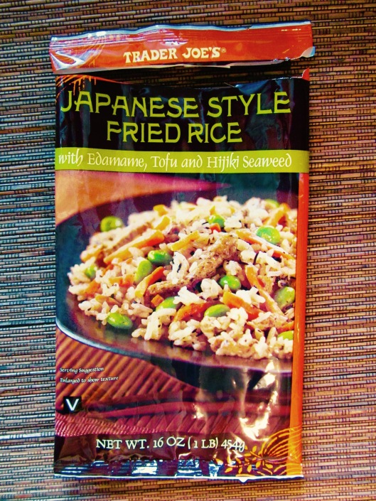 Trader Joe's Japanese Style Fried Rice with Edamame, Tofu, and Hijiki Seaweed
